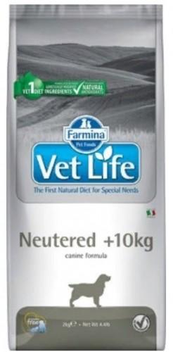 Vet Life Dog Neutered +10 kg