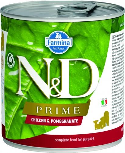 N&D Prime Dog Wet Chicken & Pomegranate Puppy