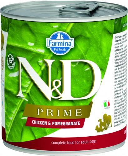 N&D Prime Dog Wet Chicken & Pomegranate