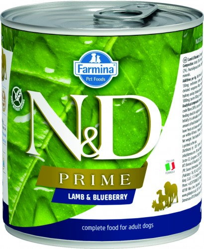 N&D Prime Dog Wet Lamb & Blueberry