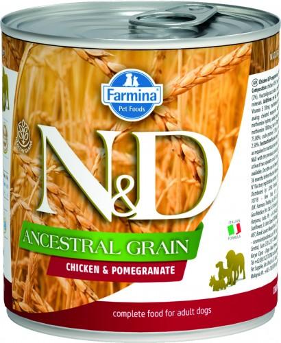 N&D Ancestral Dog Wet Chicken & Pomegranate