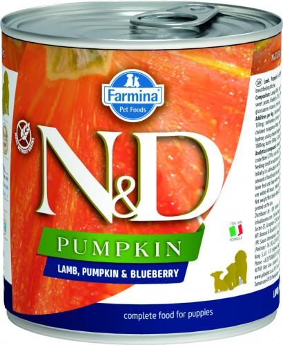 N&D Dog Pumpkin Wet Lamb & Blueberry Puppy