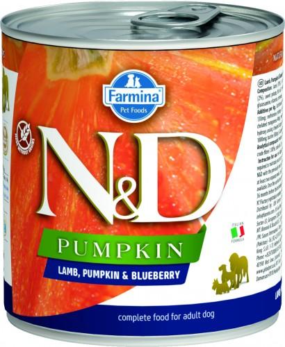 N&D Dog Pumpkin Wet Lamb & Blueberry