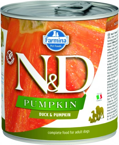N&D Dog Pumpkin Wet Duck