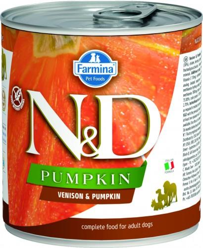N&D Dog Pumpkin Wet Venison