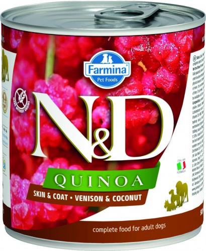 N&D Dog Quinoa Wet Venison & Coconut