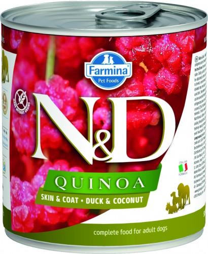 N&D Dog Quinoa Wet Duck & Coconut
