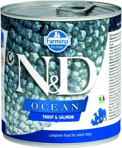 N&D Ocean Dog Wet Trout & Salmon