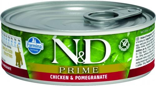 N&D Prime Cat Wet Chicken & Pomegranate Kitten