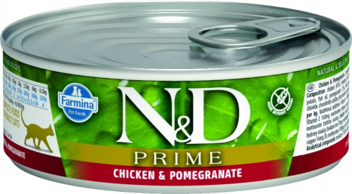 N&D Prime Cat Wet Chicken & Pomegranate