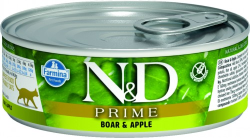 N&D Prime Cat Wet Boar & Apple