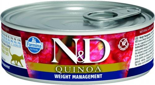 N&D Cat Quinoa Wet Weight Management