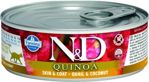 N&D Cat Quinoa Wet Quail & Coconut