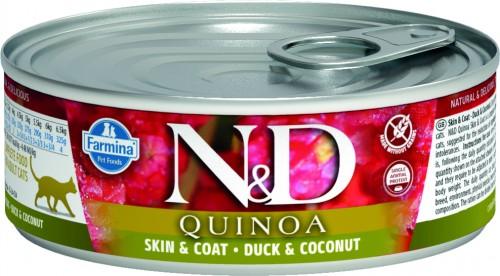 N&D Cat Quinoa Wet Duck & Coconut